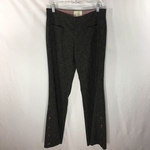 Anthropologie Elevenses Wide Leg Pants Size 6